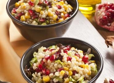 Narlı ve Mısırlı Kuskus Salatası