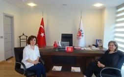 Biruni Üniversitesi Sağlık Bilimleri Fakultesi Beslenme ve Diyetetik Bölümü Öğretim Üyesi Prof.Dr.Nevin ŞANLIER Derneğimizi ziyaret etti.