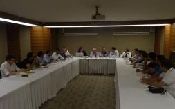 Türkiye Makarna Sanayicileri Derneği genel üye toplantısı Tat Makarna ev sahipliğinde Grand Hotel Gaziantep'te gerçekleştirildi.