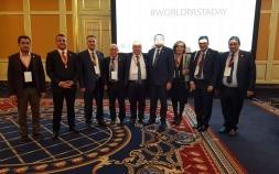 Dünya Makarna Günü'nde Türkiye Makarna Sanayicileri Derneği Moskova'ya çıkartma yaptı