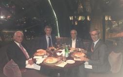 25 Ekim Dünya Makarna Günü Gala yemeğinde başkanlar bir araya geldi.