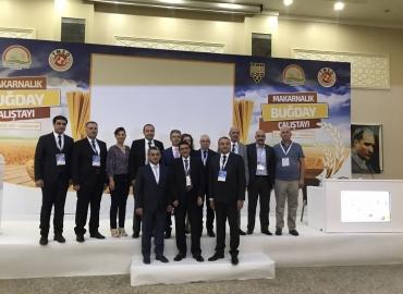 Makarnalık Buğday Çalıştayı Gaziantep'te gerçekleştirildi.