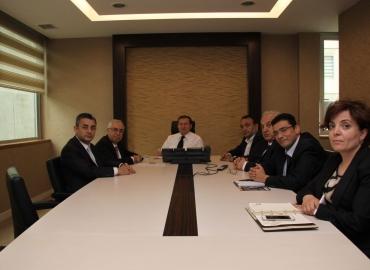 Türkiye Makarna Sanayicileri Derneği Yönetim Kurulu TMO Genel Müdürü Sayın İsmail KEMALOĞLU'na hayırlı olsun ziyaretinde bulundular.