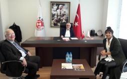 İtalyan Ticaret Odası Derneği Yönetim Kurulu Üyeleri Derneğimize nezaket ziyaretinde bulundular .