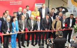 Afrika'dan yoğun ziyaretçi katılımının olduğu IDMA2019 fuarının açılışına sektörün tanınmış simaları katıldı.
