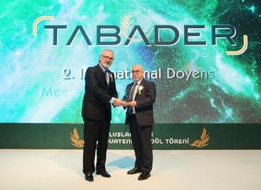 TMSD TABADER tarafından 'Yılın Kuruluşu 'Ödülüne Layık Görüldü.